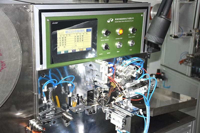 small amorphous and nanoclrystalline cores winding machine
